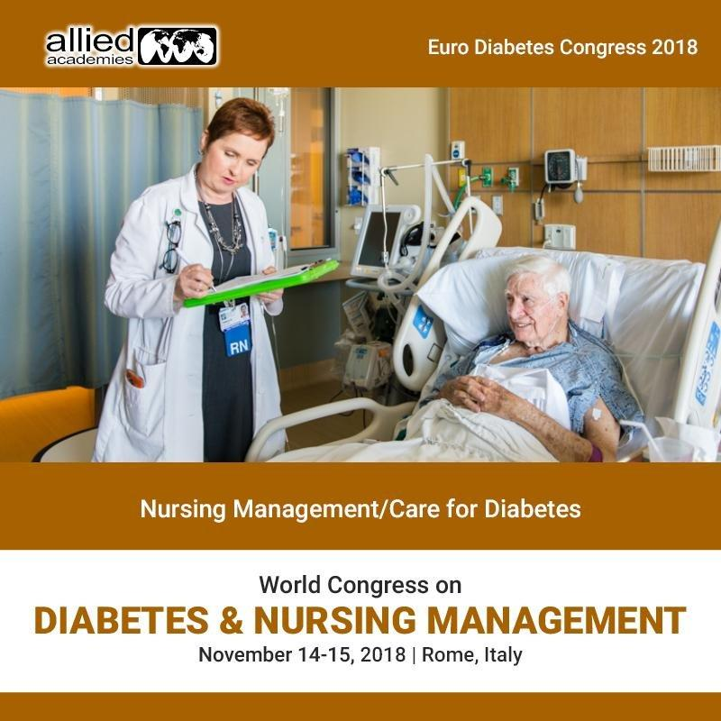 Nursing Management/care For Diabetes rome  italy europe usa middle East asia Pacific allied Academies 