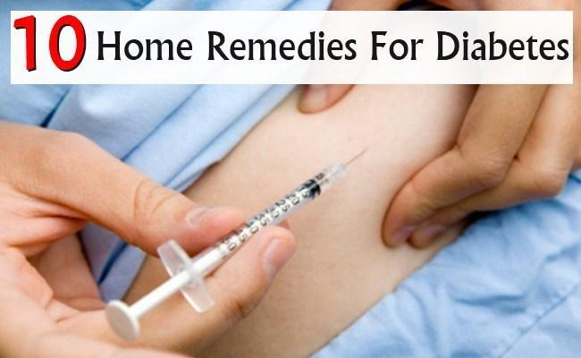 Top 10 Home Remedies For Diabetes