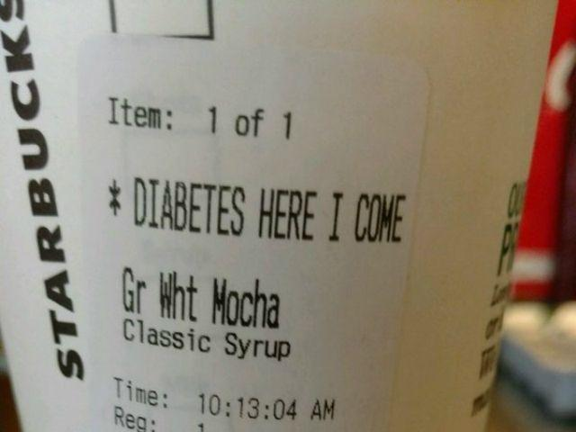 Starbucks apologizes to man who received 'diabetes here I come' message on cup