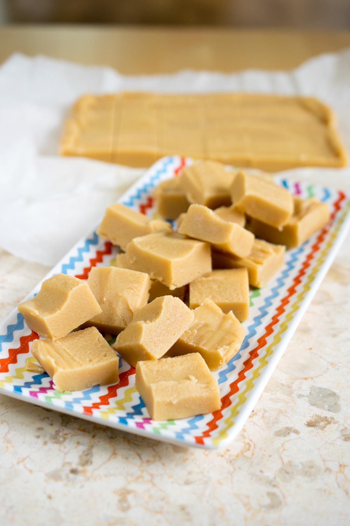 Soft & Creamy Vanilla Fudge