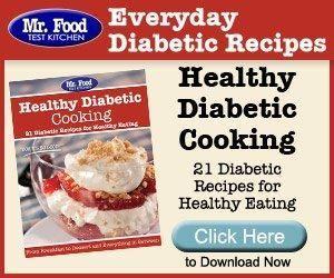 Mr. Food Everyday Diabetic Recipes