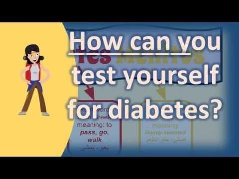What Do You Test For Diabetes?