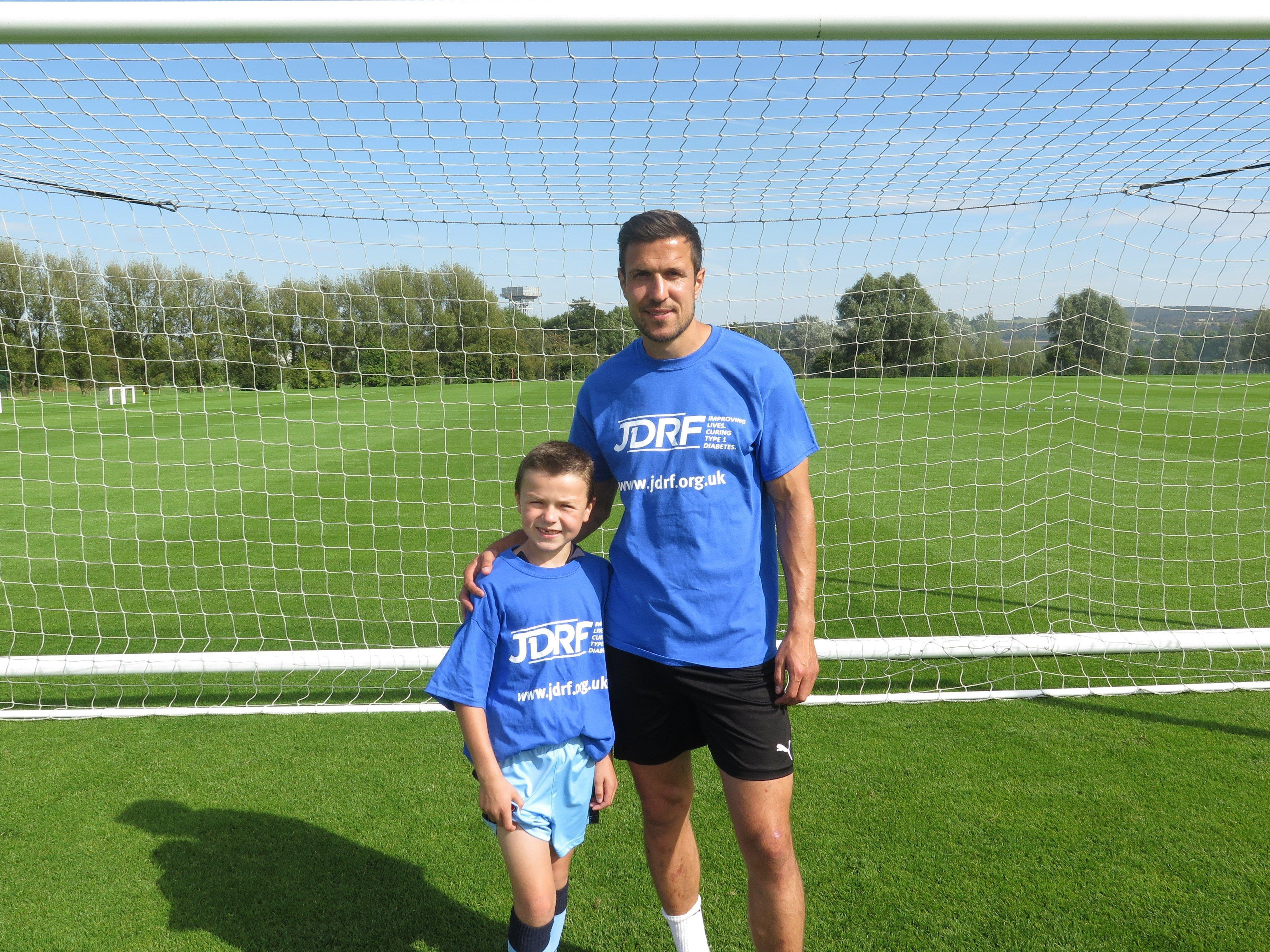 Championship Footballer And Father To A Child With Type 1 Diabetes Richard Wood Speaks To Jdrf