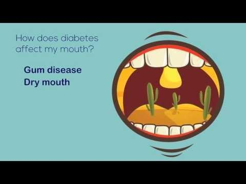 How Does Diabetes Cause Dental Problems?