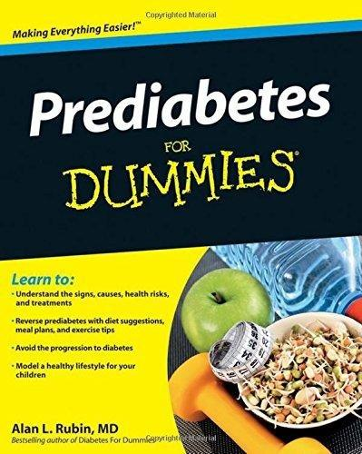 Free-download Prediabetes For Dummies Pdf Download - By Alan L. Rubin - Thistimagpury