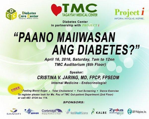 Paano Maiiwasan Ang Diabetes