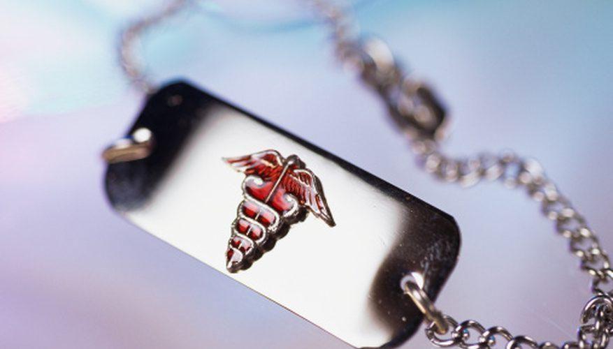 Free Diabetic Necklace Or Bracelet