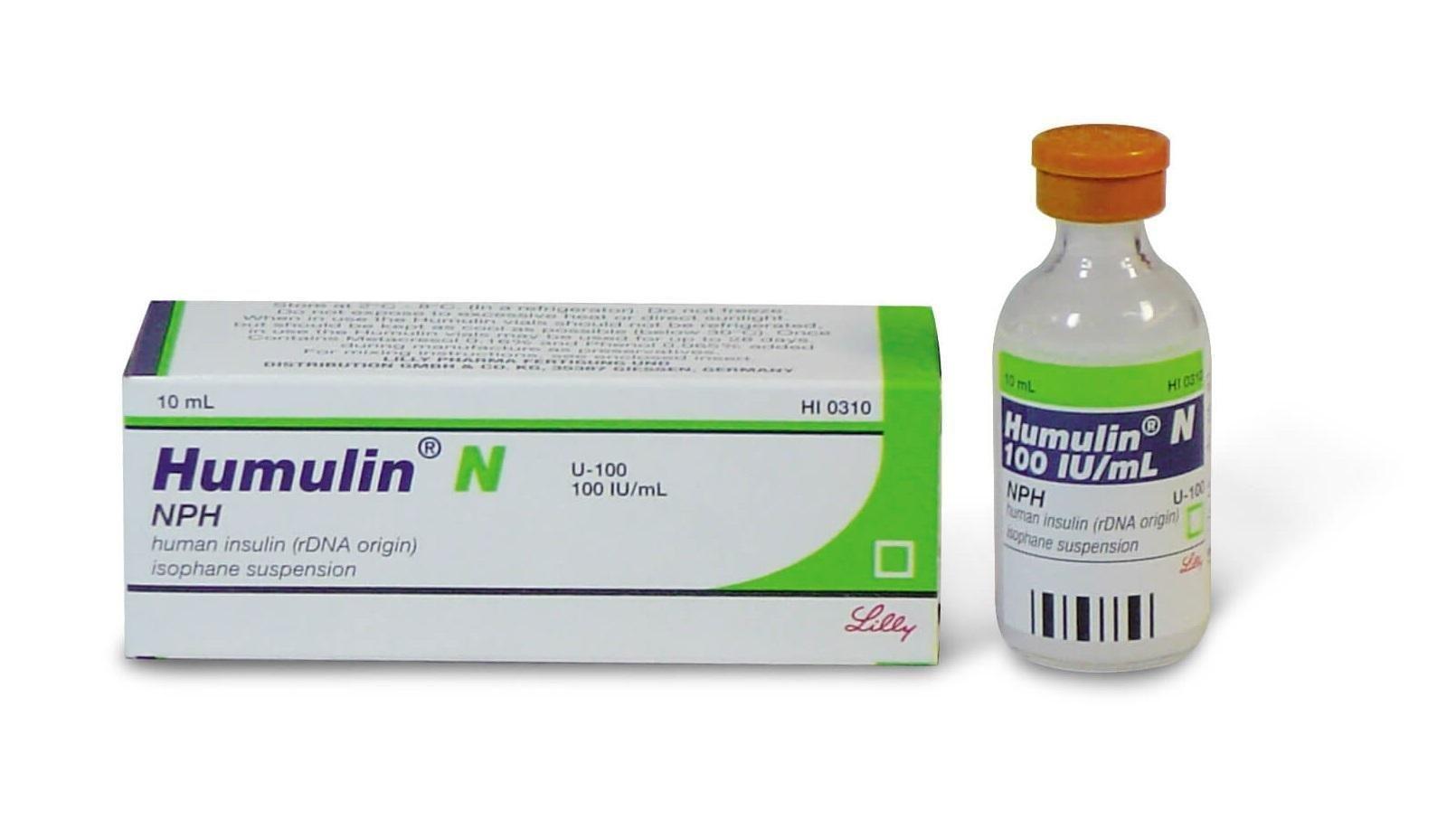 Humulin N (insulin Isophane Aka Insulin Nph)