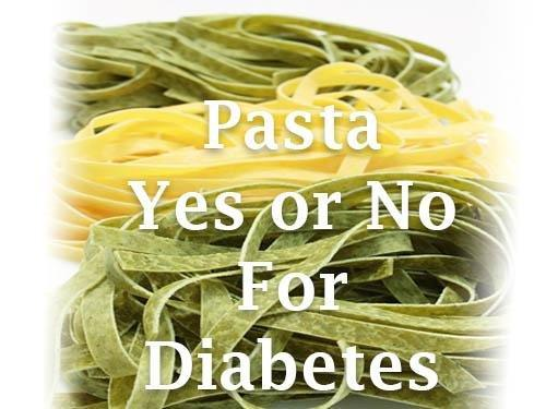 Can A Diabetic Eat Pasta