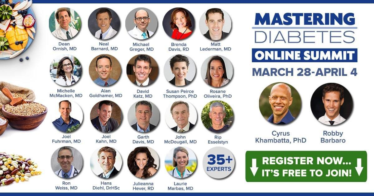 Free Online Summit: Mastering Diabetes