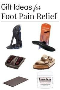 Great Gifts Ideas For People With Foot Pain