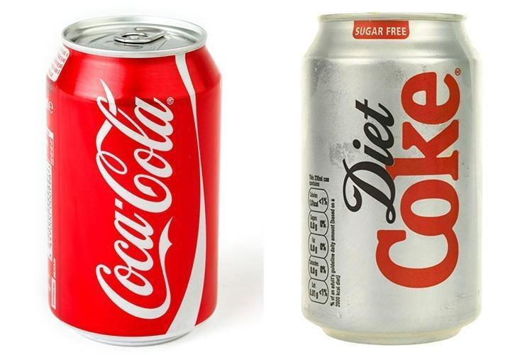 What's Better For You, Sugar-laden Coca Cola Or Diet Coke? We Review The Science And Find They're Both As Bad As Each Other
