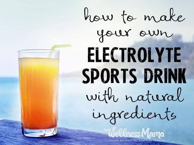 Natural Electrolyte Drink Recipe (with Flavor Options)