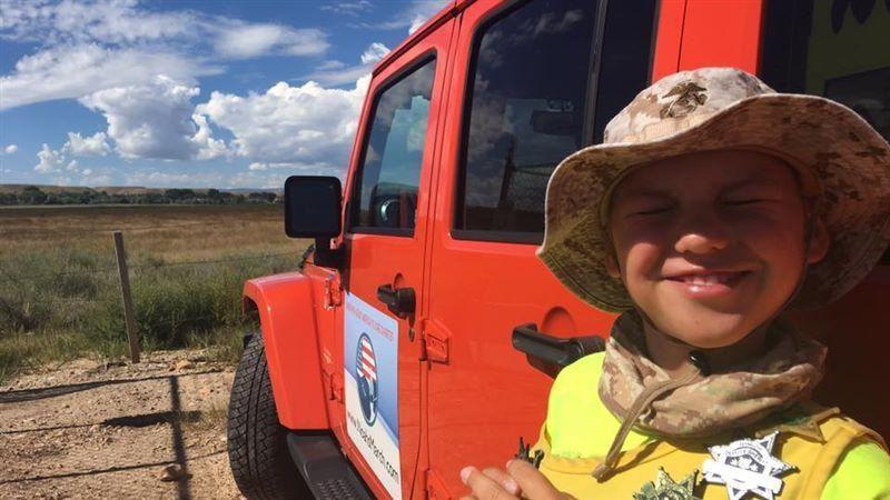 11-year-old boy walking across US to raise diabetes awareness