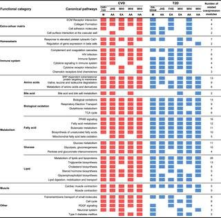 Shared Genetic Regulatory Networks For Cardiovascular Disease And Type 2 Diabetes In Multiple Populations Of Diverse Ethnicities In The United States