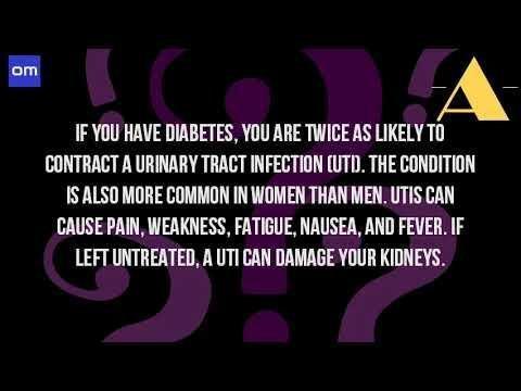 Is Uti A Symptom Of Diabetes?
