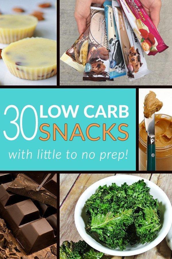 30 Low Carb Snacks (keto Snacks)