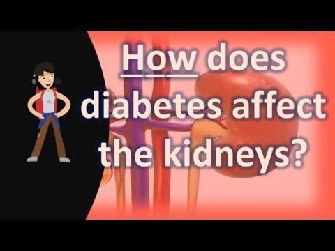 When Diabetes Affects The Kidneys