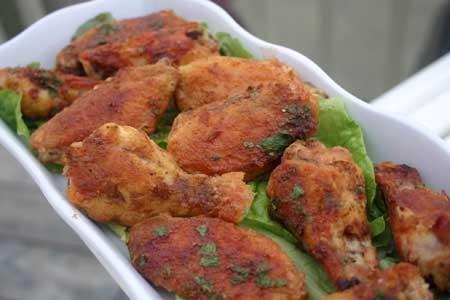 Carolina Chicken Wings For #cookedintranslation