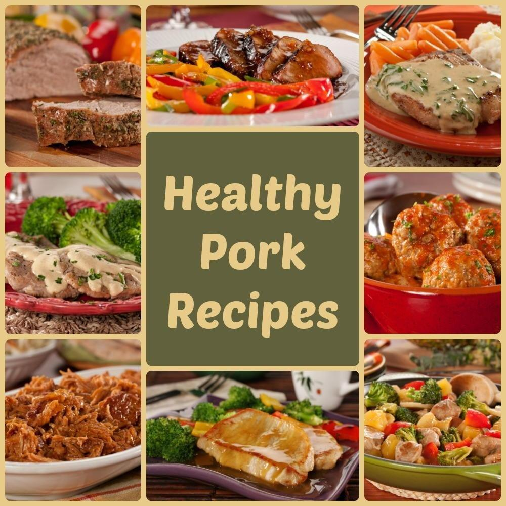 Pork Loin, Pork Chops, And Pulled Pork: 8 Healthy Pork Recipes