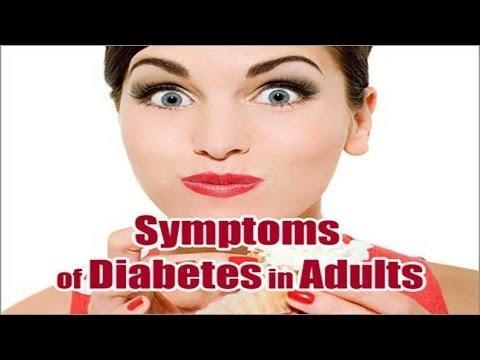 What Are The Symptoms Of Diabetes In Adults?