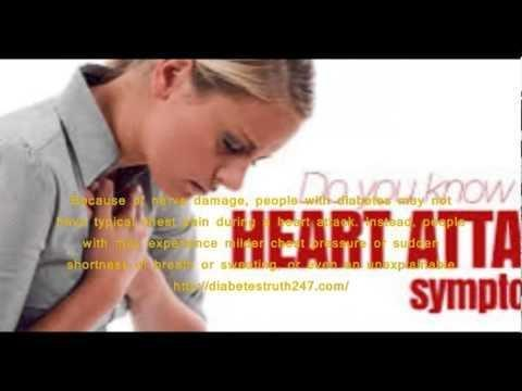 Silent Heart Attack Diabetes