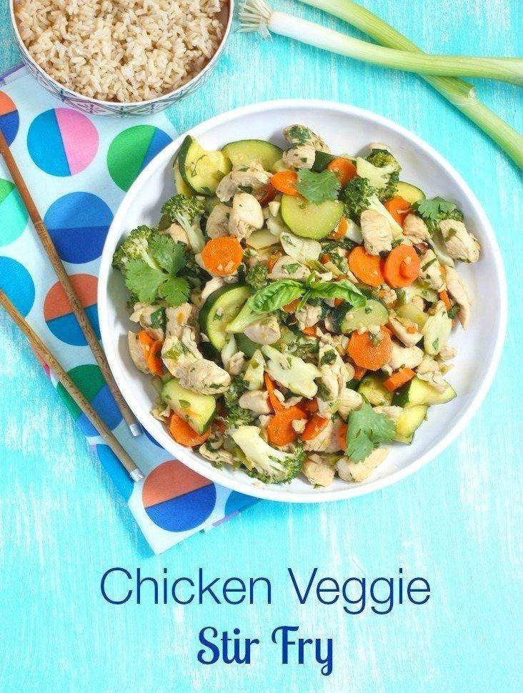 Chicken Veggie Stir Fry + The Pre-diabetes Diet Plan