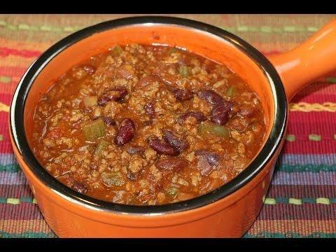 Homemade Chili For Diabetics