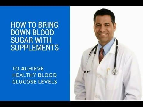 Bring In The Research Supporting The Blood Sugars You Want To Achieve Will Work.