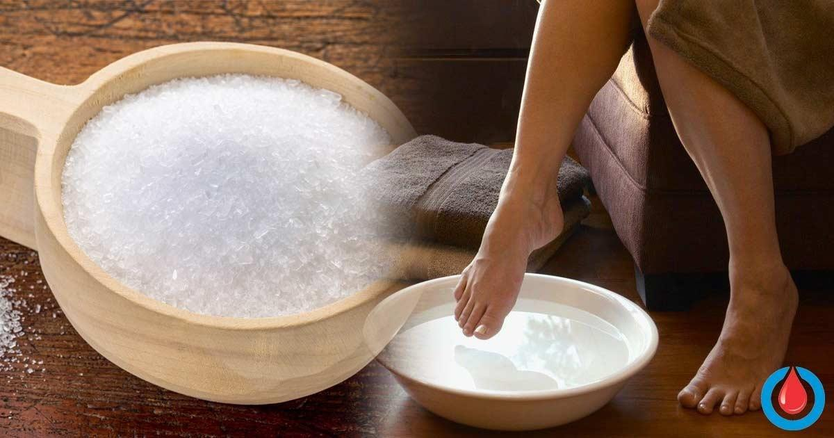 Should People with Diabetes Soak Their Feet in Epsom Salt?