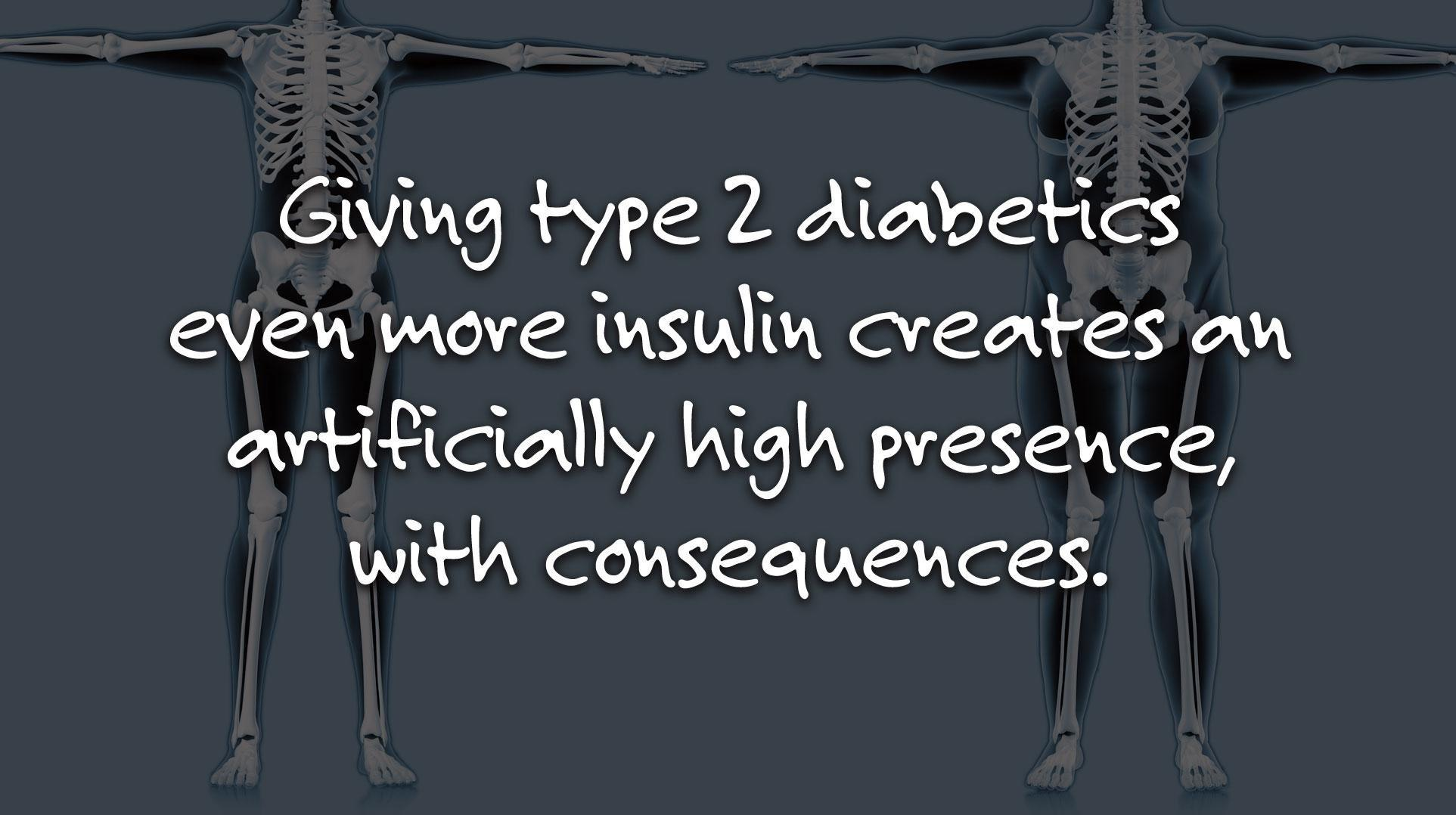 Too Much Insulin Causes Insulin Resistance