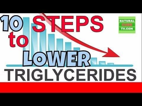 Triglycerides And Diabetes - 10 Suggestions To Help Lower Them When Elevated