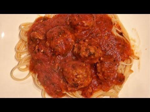 Diabetic Spaghetti And Meatballs