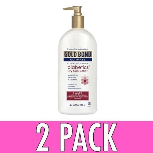 Gold Bond Diabetics Dry Skin Relief Lotion 18oz 041167053676t916