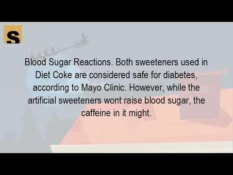 Do Diet Soft Drinks Affect Blood Sugar?