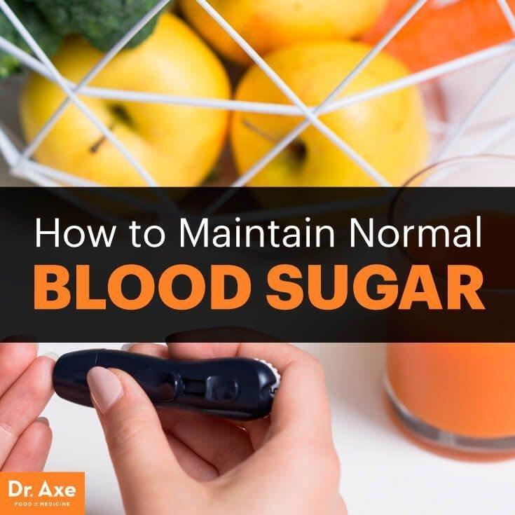 How To Maintain Normal Blood Sugar