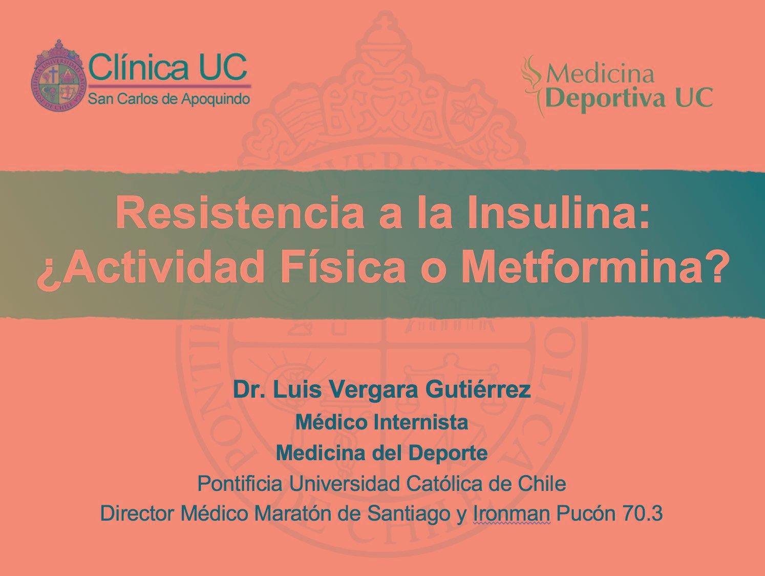 La Metformina Atenuara Los Efectos Benficos Del Ejercicio En Pacientes Con Resistencia A La Insulina