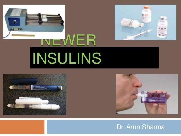 Newer Insulin Delivery Devices