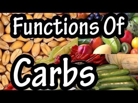 4.4: The Functions Of Carbohydrates In The Body