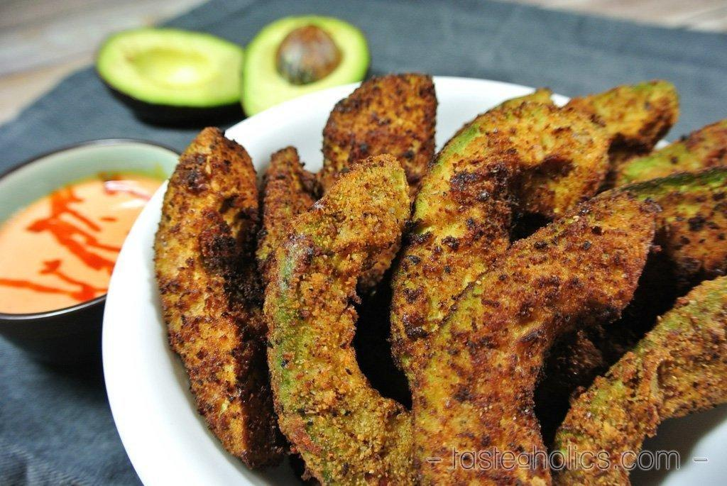 Low Carb Avocado Fries - Deep Fried Or Baked!