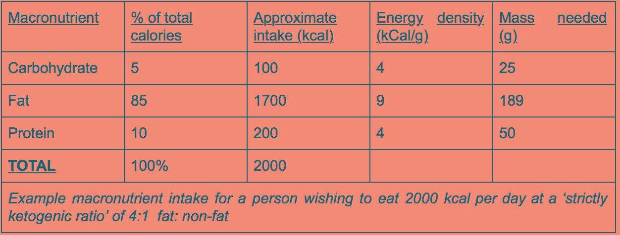 Keto Diet Fundamentals