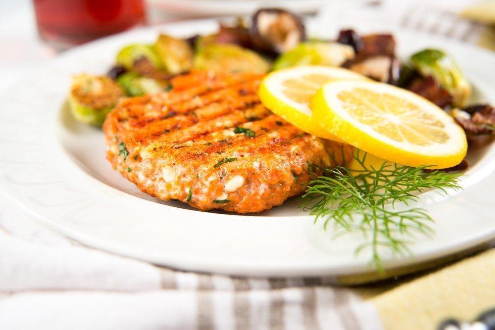Diabetic Salmon Patties