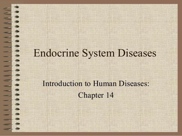 Endocrine System Diseases