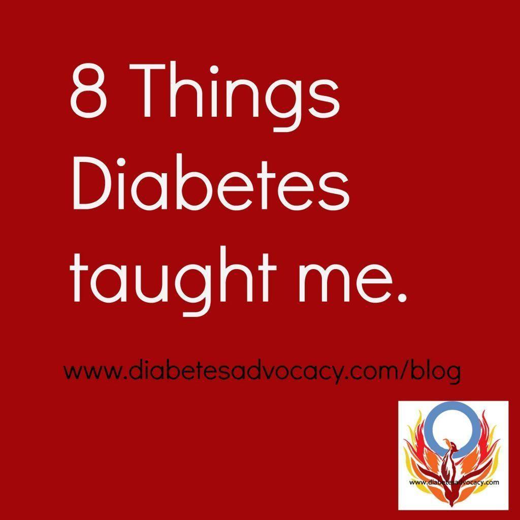 What Diabetes Has Taught Me