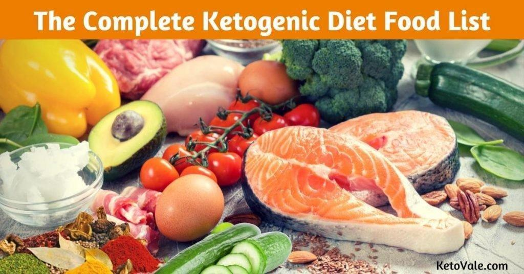 The Complete Keto Diet Food List: What To Eat And What To Avoid
