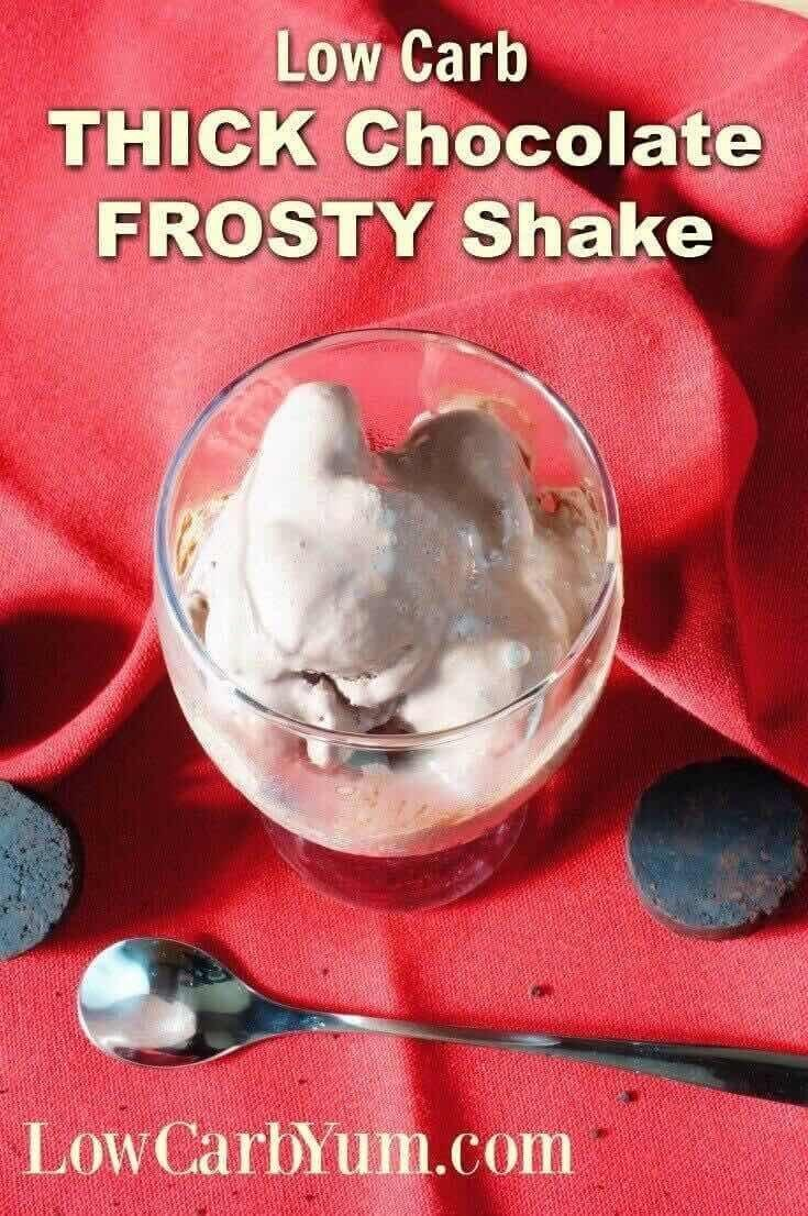 Frosty Chocolate Low Carb Shakes