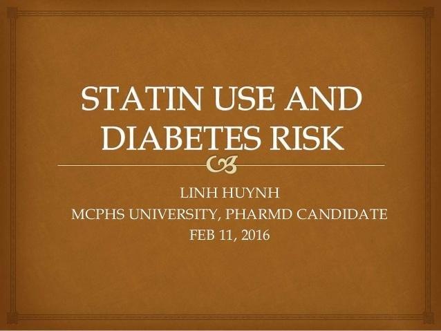 Statin Use And Diabetes Risk