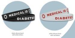 Free Diabetes Awareness Bracelet
