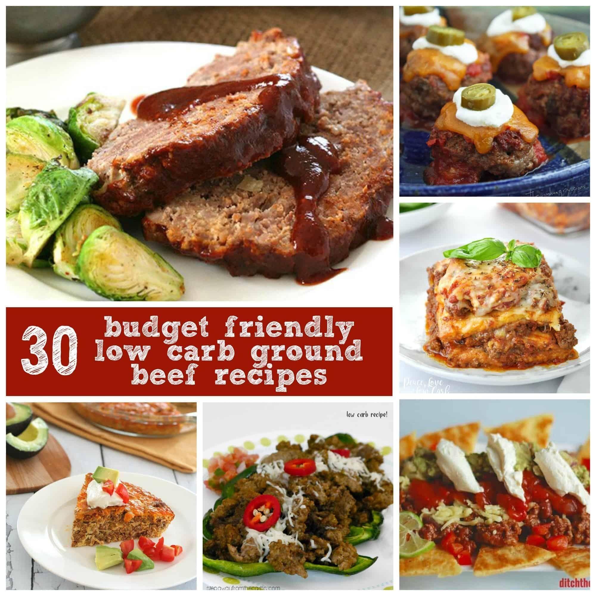 Diabetic Hamburger Recipes