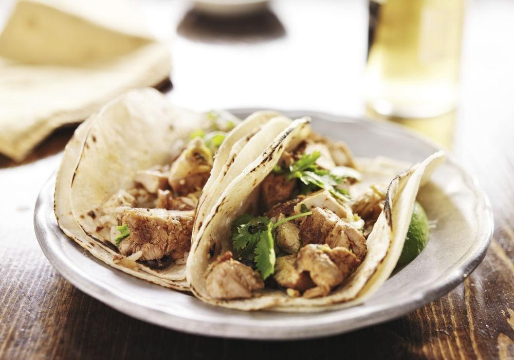 Diabetic Chicken Tacos